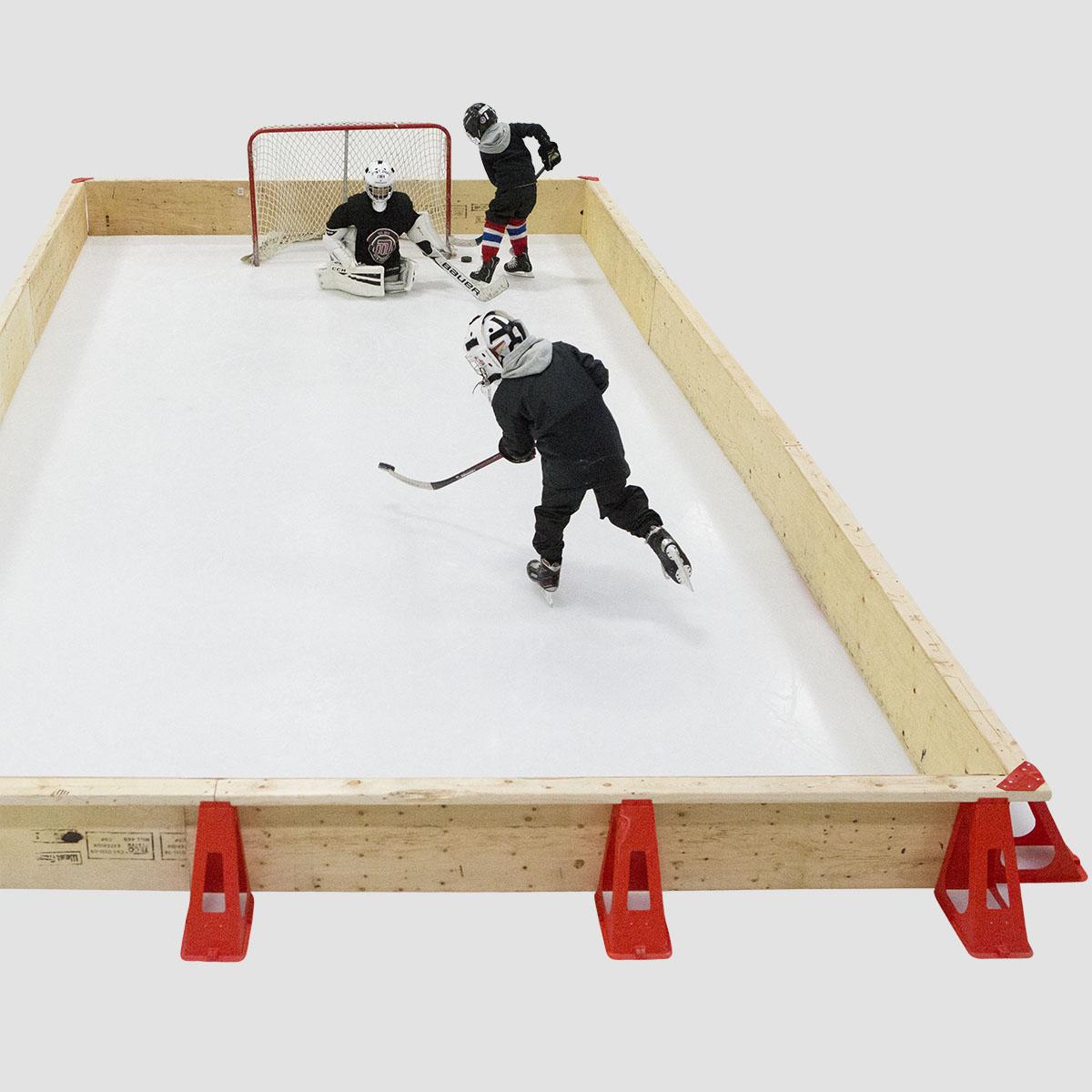 100 backyard hockey rink kits rink in a box u0026 starter