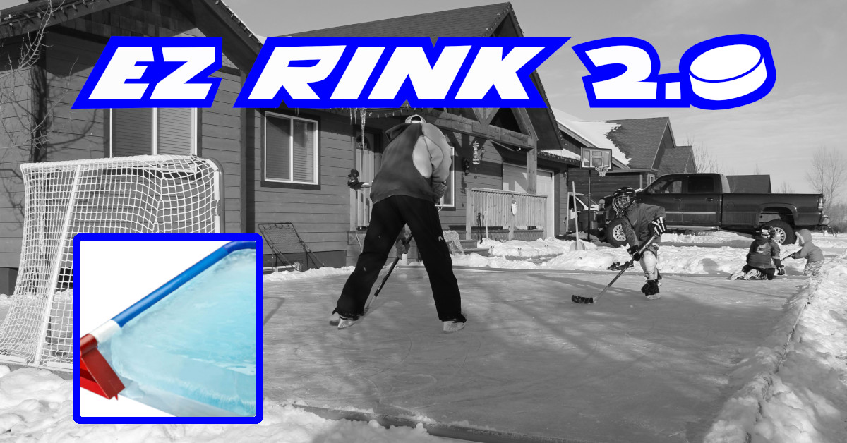 Use Ice N'Go Rink-Kits to build your Backyard Ice Rink ...