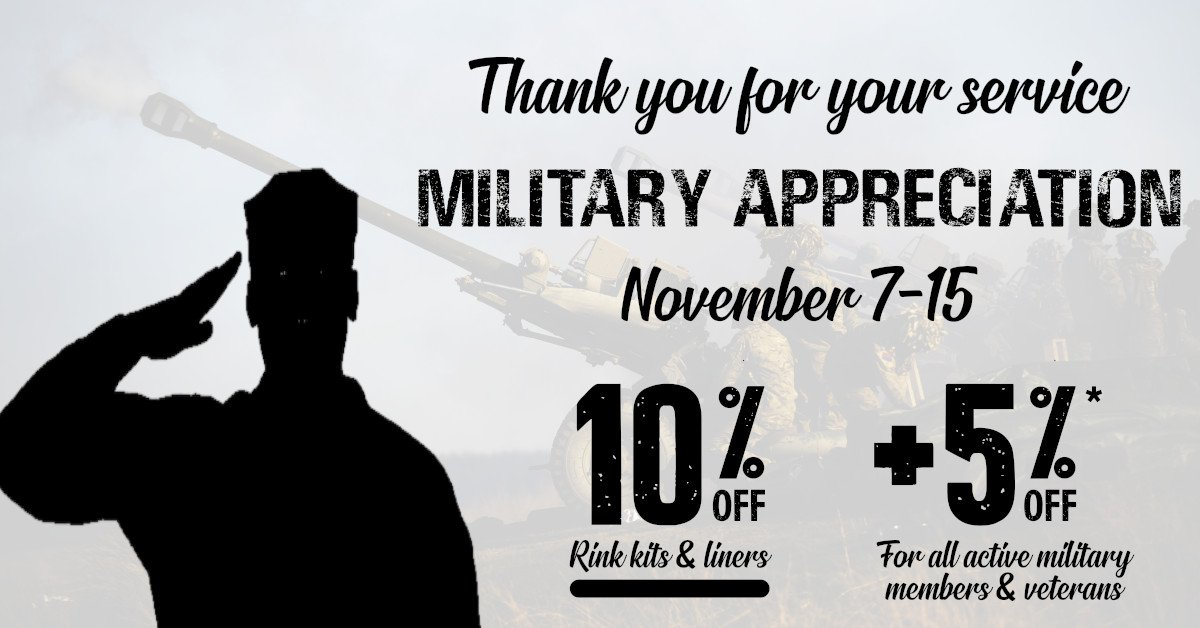 Ice N'Go Military Appreciation Sale
